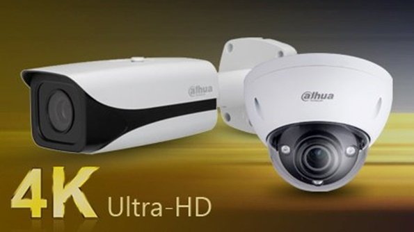 4k ultra-HD video kamere crno bele boje