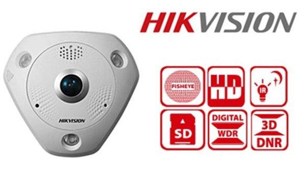 hikvision ravna zidna kamera sive boje
