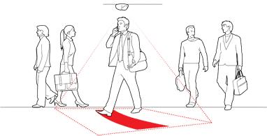 ilustrativni pokazatelj video nadzor snimanja
