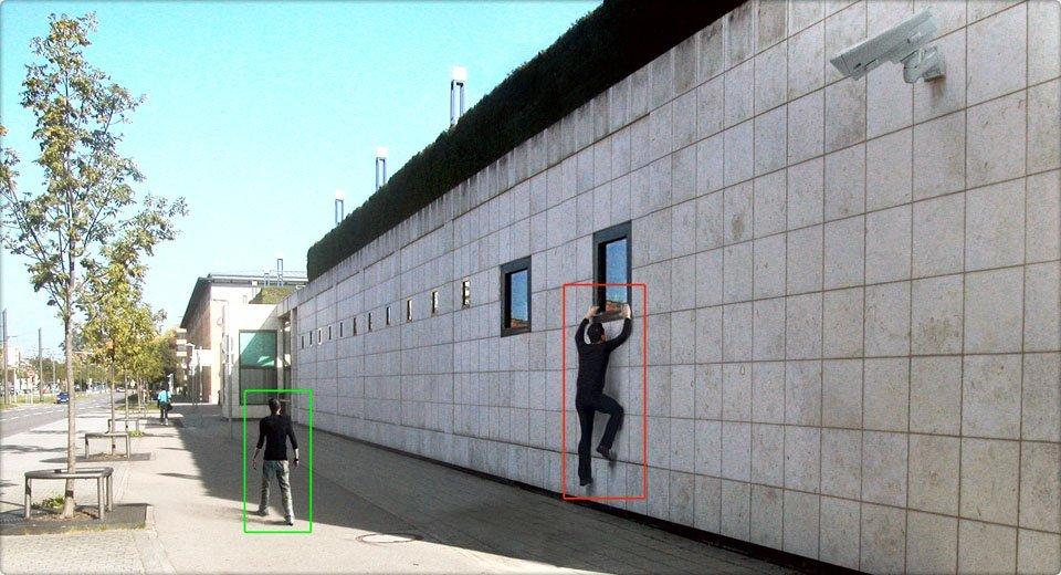 pokrivenost uglova video kamere naolju