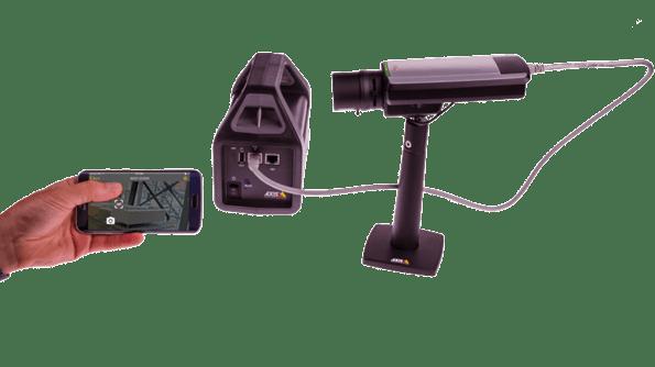 Fotografija axis video nadzor opreme