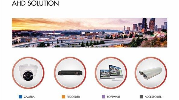 fotografija AHD solution sa četiri okrugle sličice