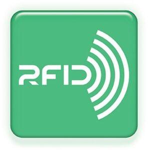 zeleno belo dugme za rfid