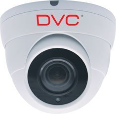 Bela dvc okrugla zidna kamera za video nadzor