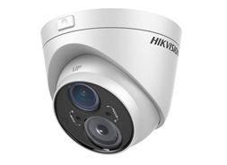 Okrugla bela kamera hikvision za video nadzor