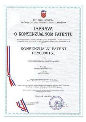 isprava o konsenzualnom patentu