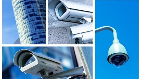 Nekoliko slika različitih kamera za video nadzor