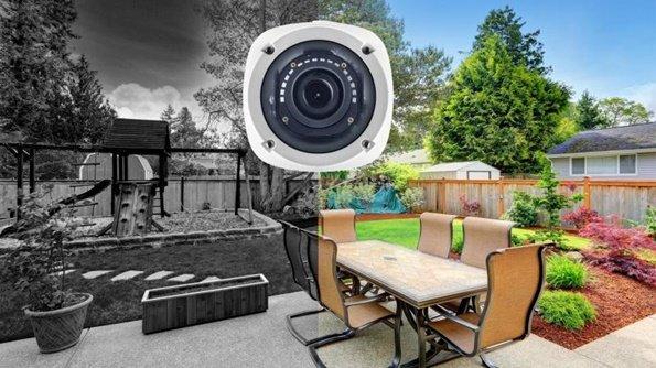 Okrugla sigurnosna kamera za video nadzor