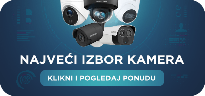 Kamere za video nadzor prodaja - prodaja za kamere
