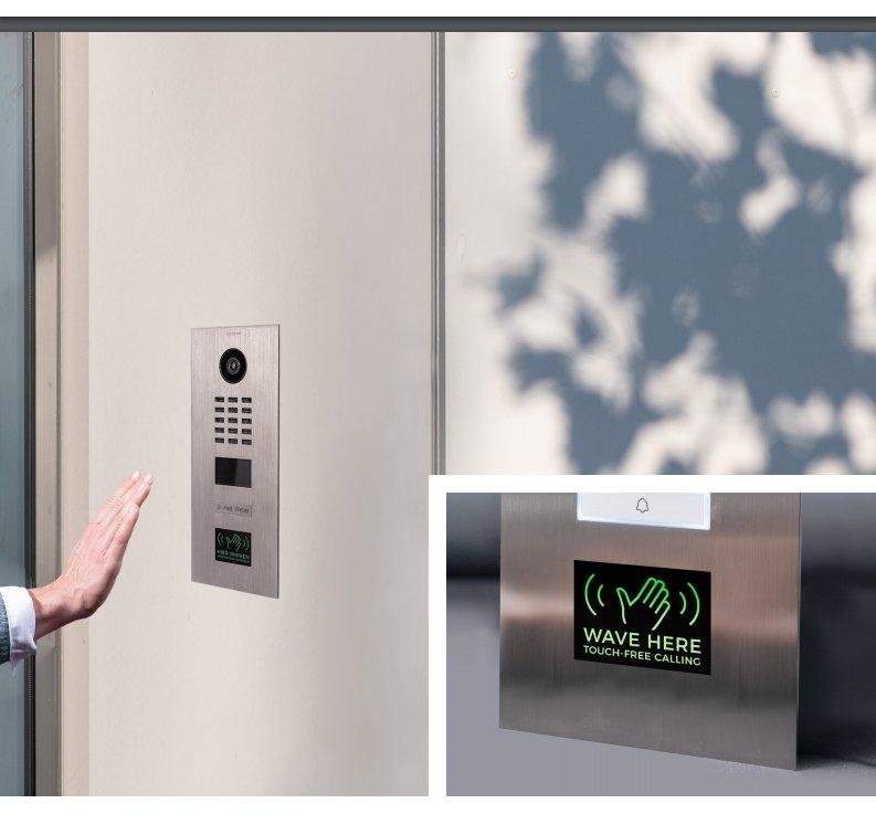 Video-Interfon-DoorBird-D2101WV-touch-free