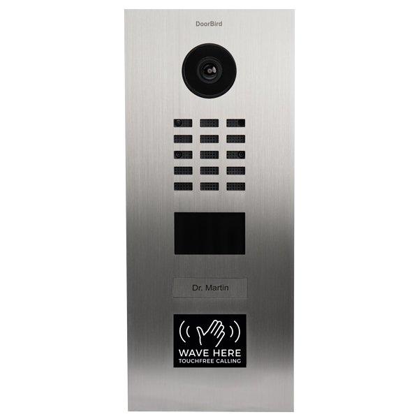 Video-Interfon-DoorBird-D2101WV-touch-free-calling